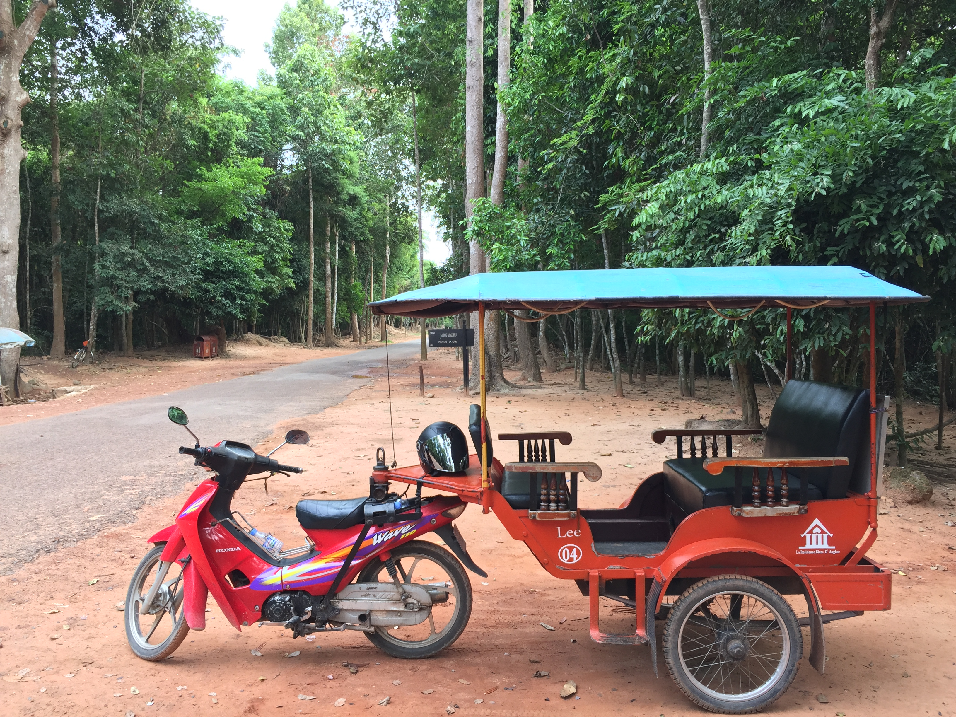 Why you need best Tuk-Tuk driver tour in Siem Reap? best lowest price, best service Guarantee. Best driver with good Speaking English, I have been a tuk tuk driver for many years in Angkor Archaeological Park and other tourism sites around Angkor. I know the most interesting and beautiful places in the greater Siem Reap area. I will help you find the best spots for taking memorable photos. I always offer our best service on your trip of a lifetime. I work honestly and punctually at all times. My services have been prepared with the needs of all travelers in mind. Please try My service - I guarantee that you will see the real Cambodia. I would like to hear from you with any suggestions or recommendations. I am available to attend to your sightseeing and activity requirements. Please feel free contact us here for more informations!